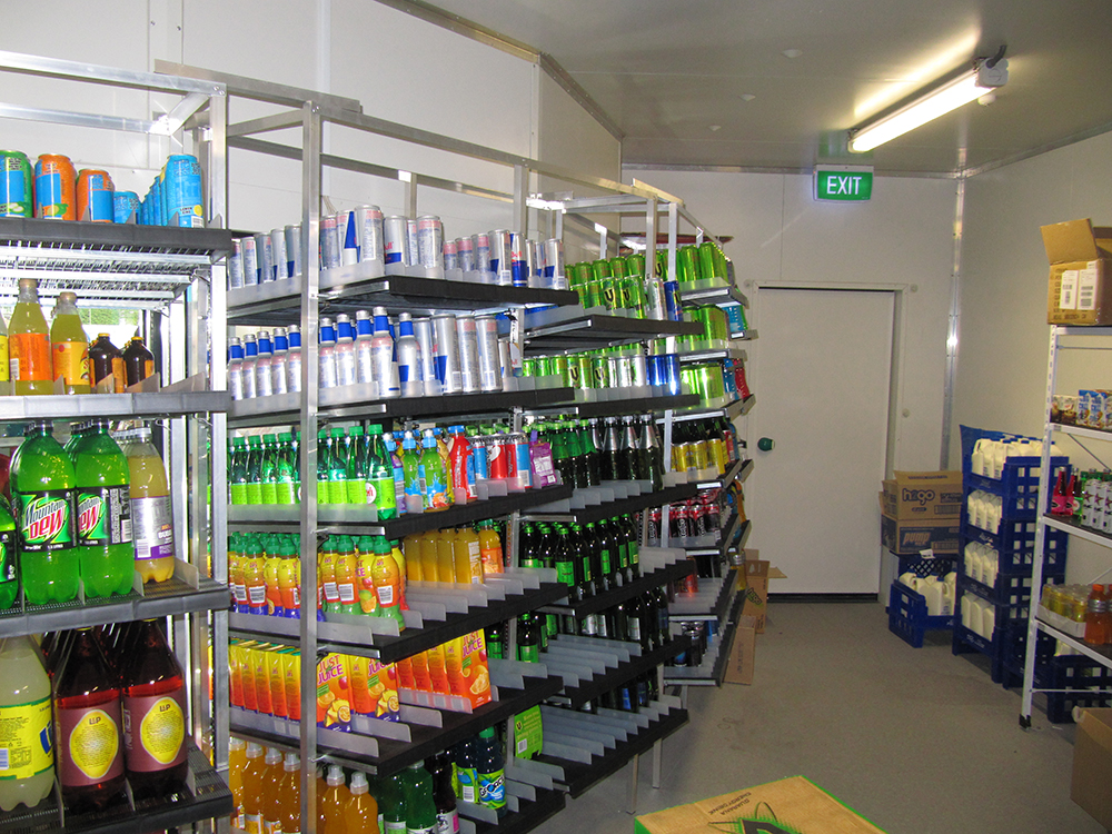 ... Rollers are used for heavier items or cartons that are unlikely to slide on the plastic surface. Call us to discuss your chiller storage requirements! & Chiller Shelving Chiller Storage New Zealand | Novalok